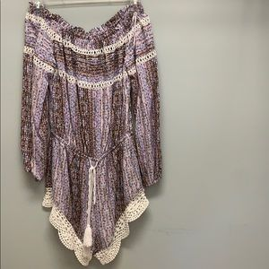 LF Lace Romper. New With Tags!